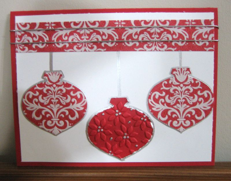 Flocked ornaments